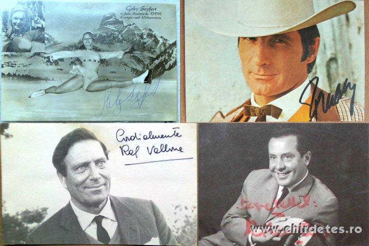 Autogramok aláírás 47 autogram színészek énekesek zenészek