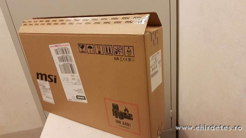 Eladó MSI GF75033xes laptopom