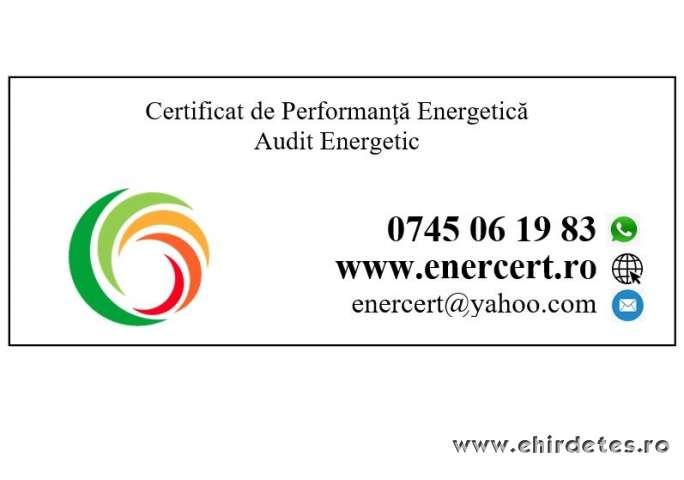 Energetikai tanusitvany Certificat de performanta energetica