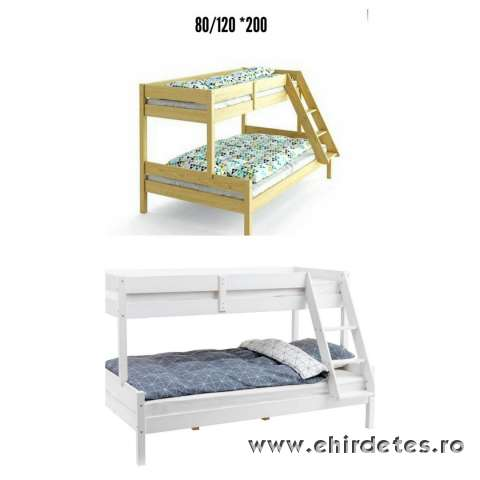 Minőségi tömör fenyőből készült ágyak