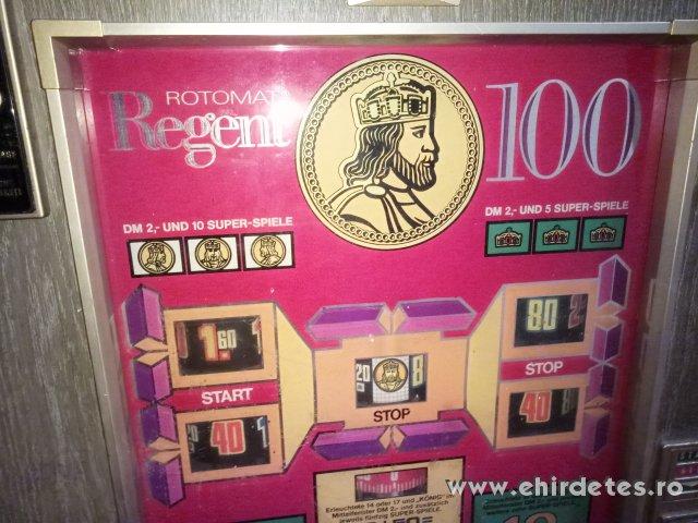 Nyerőgép Rotomat Regent 100 nyerőgép DM óbuda