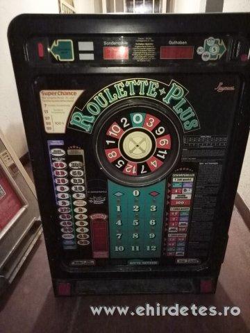 Playmont Roulette Plus Retro nyerőgép fellelt állapotában eladó óbudán