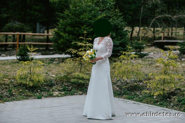Saját tervezésű menyasszonyi ruha eladó
