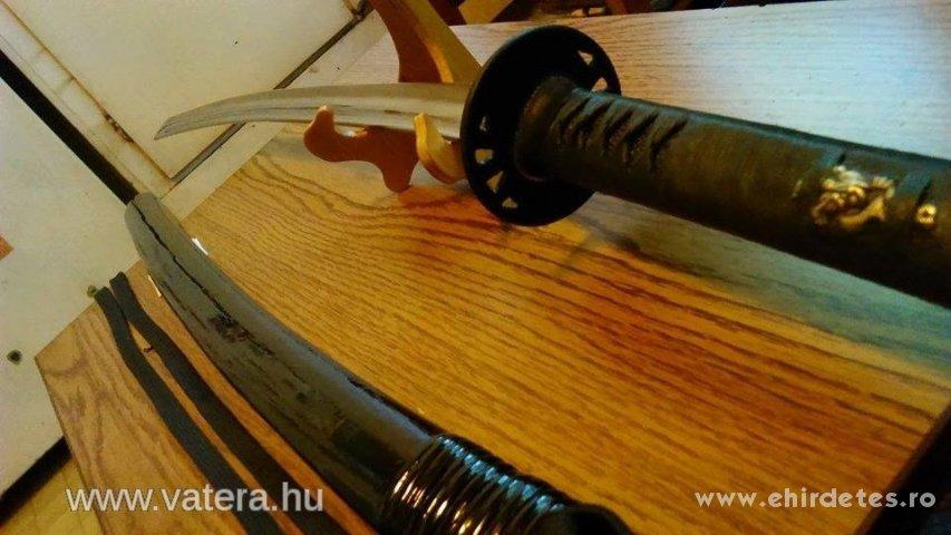 Szamurájkard katana Eredeti Japán harci vágókard