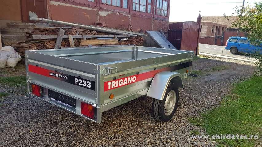 Trigano p233 extra erős billenthető remorka készletről
