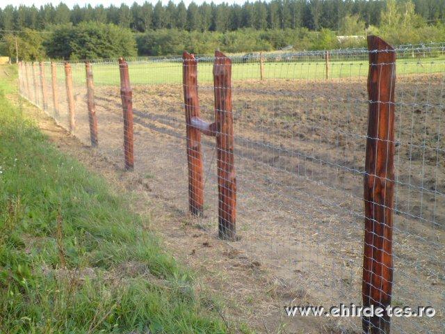 vadháló drótfonat kerítésdrót oszlop