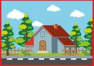 Kertes családi házat